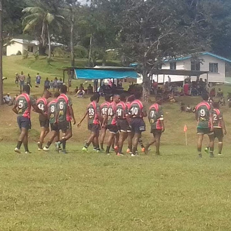 Our friends at Hotspring Rugby Club, Fiji