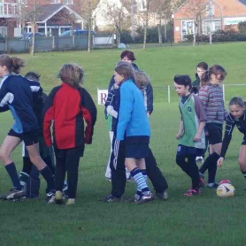 Abbey Girls v Reading Girls v Newbury Girls 27.11.12