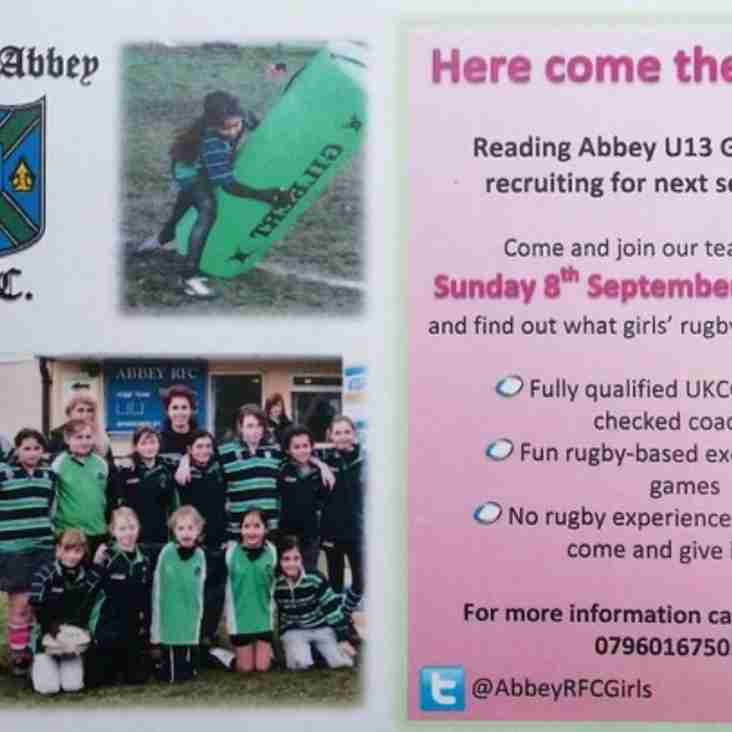 Abbey Girls Taster Session