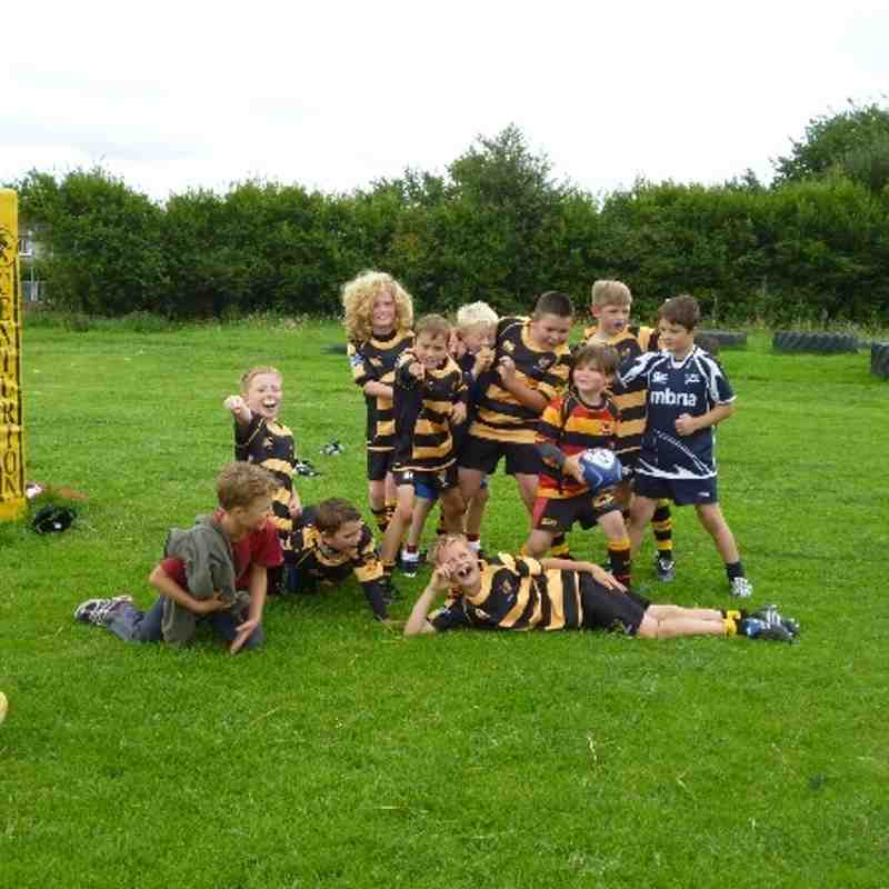 Kendal Hornets U10s first training session 1.9.13
