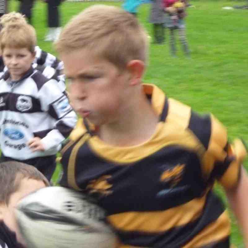 Kendal Under 10s first ever match (v Upper Eden)
