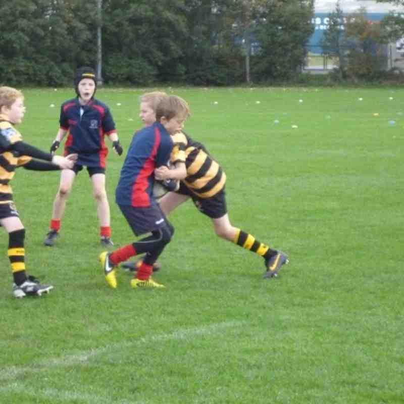 Kendal Under 10s v Carlisle 13.10.13