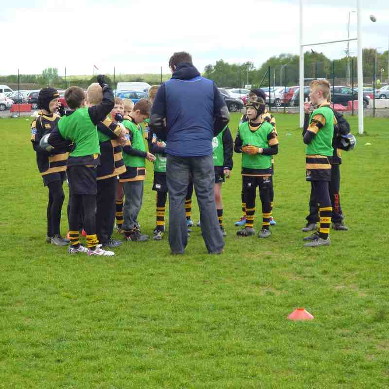 U11s trip to Sale Sharks coaching clinic