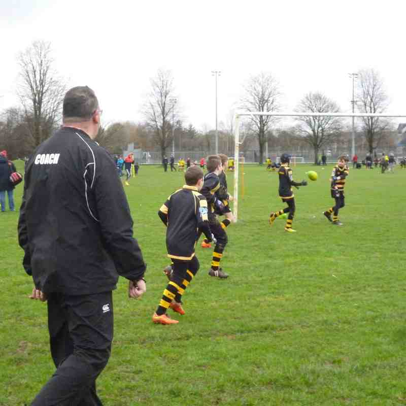 Kendal u12s via Vale of Lune and Upper Eden Feb 2016
