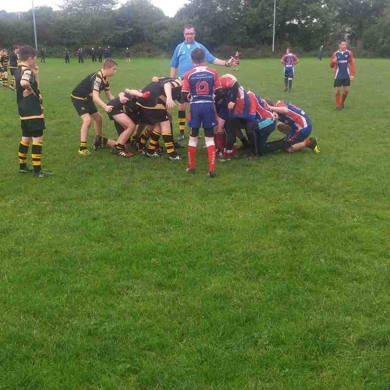 Under 13s v Blackburn 16.10.16