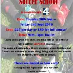 Launching Soccer Camp 2016!!!
