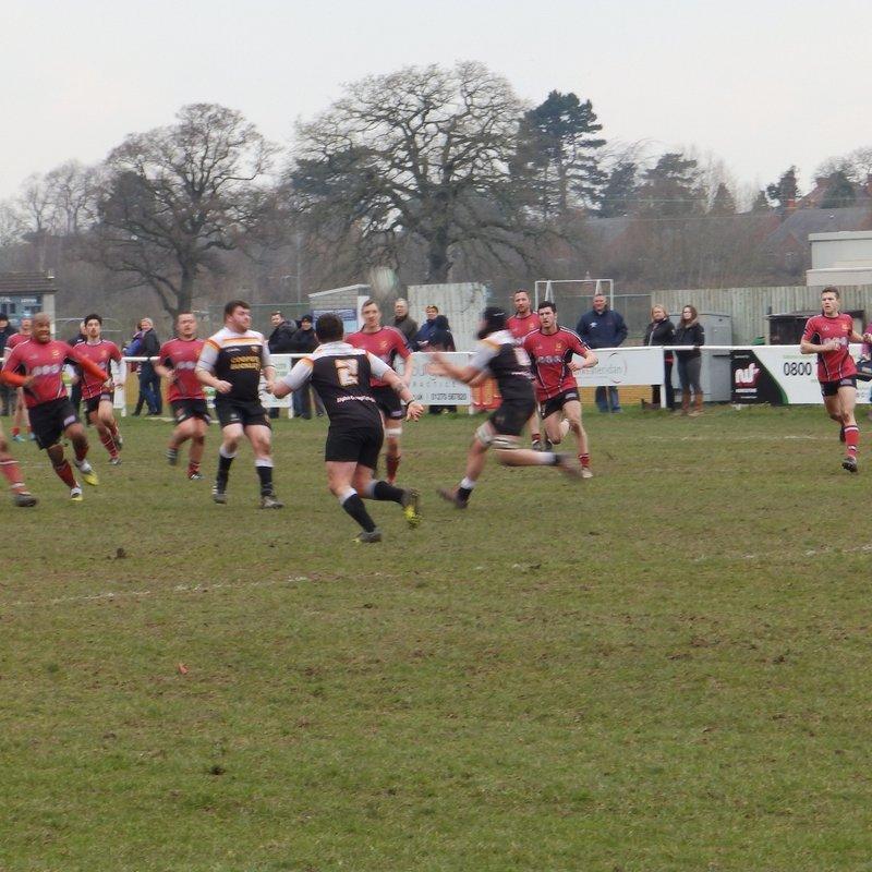 Hereford 23 v Crewe & Nantwich 23