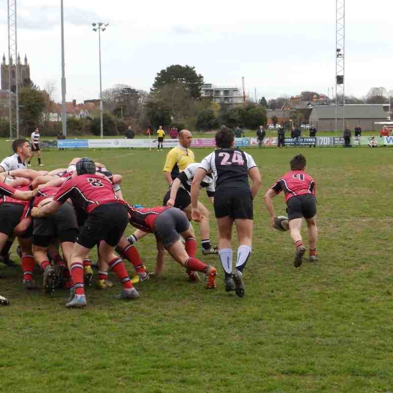 Hereford Colts v Lucs 10 April 2016
