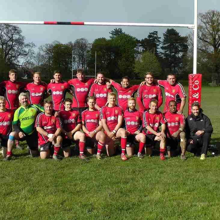 Development XV Win League Cup