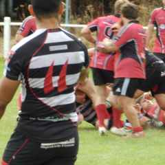 Hereford run in seven tries against higher graded Lydney