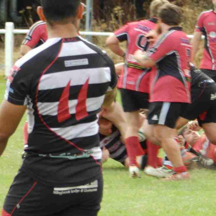 Hereford run in seven tries against higher graded Lydney