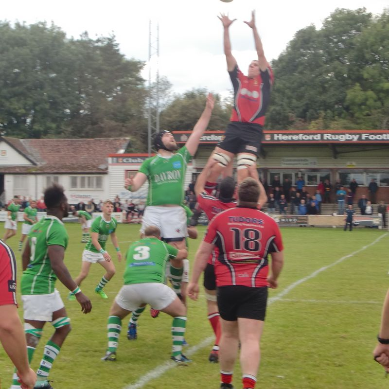 Hereford 29 Sutton Coldfield 12