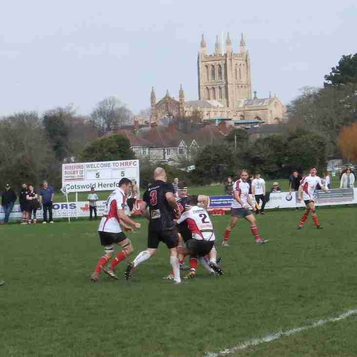 Hereford 22 Rugby Lions 24
