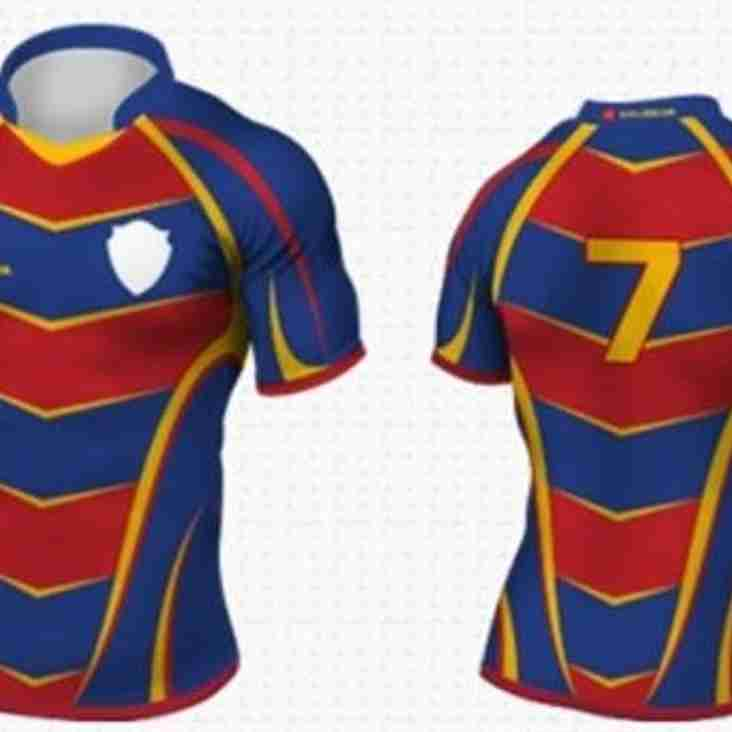 Design for the 2016/17 strip