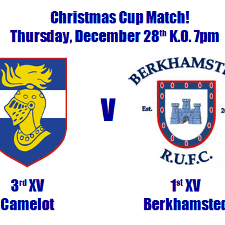 Christmas Cup Match at Camelot