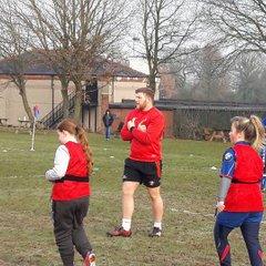 Girls team training with Joshua McNulty