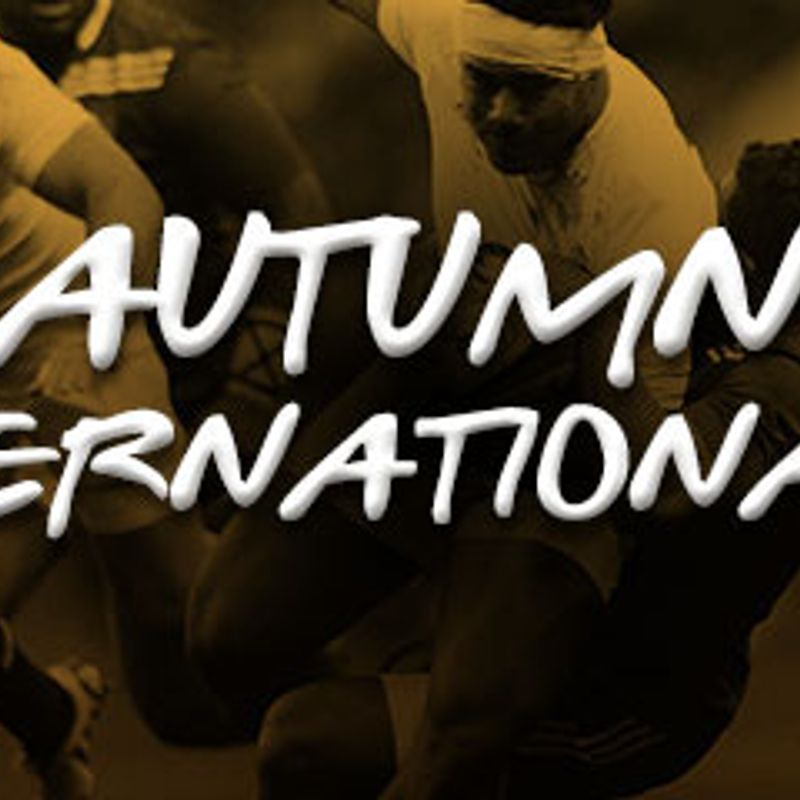 Autumn International Tickets now available to KRFC club members