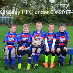 Mini and Junior U7's squad 2017-18