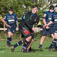 Barbarians U14's in action