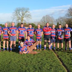 Oldies v Younguns, New years Day 2018