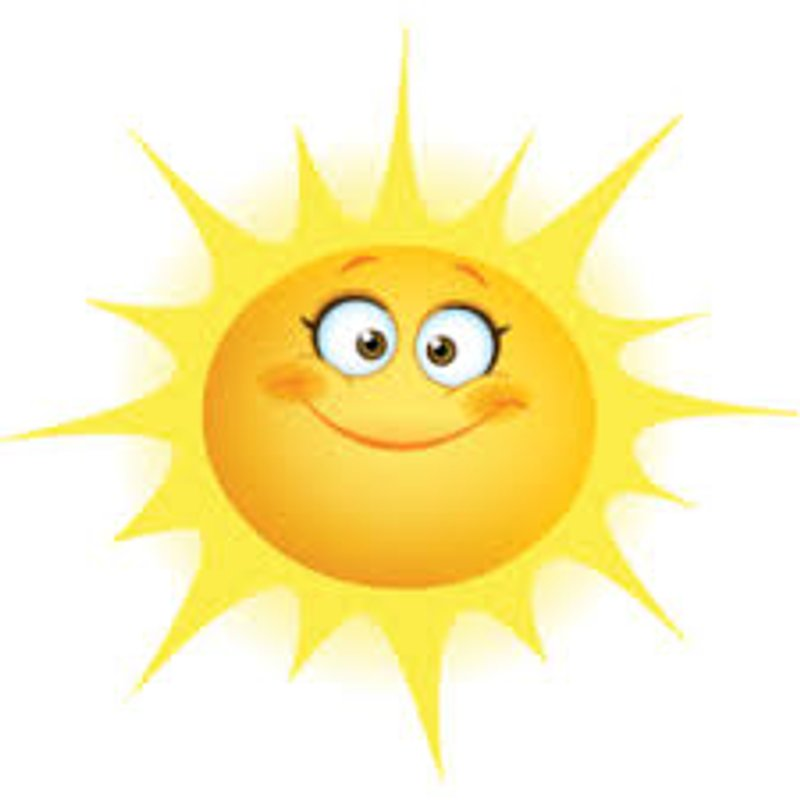 What a weekend ahead - The Sun will be out