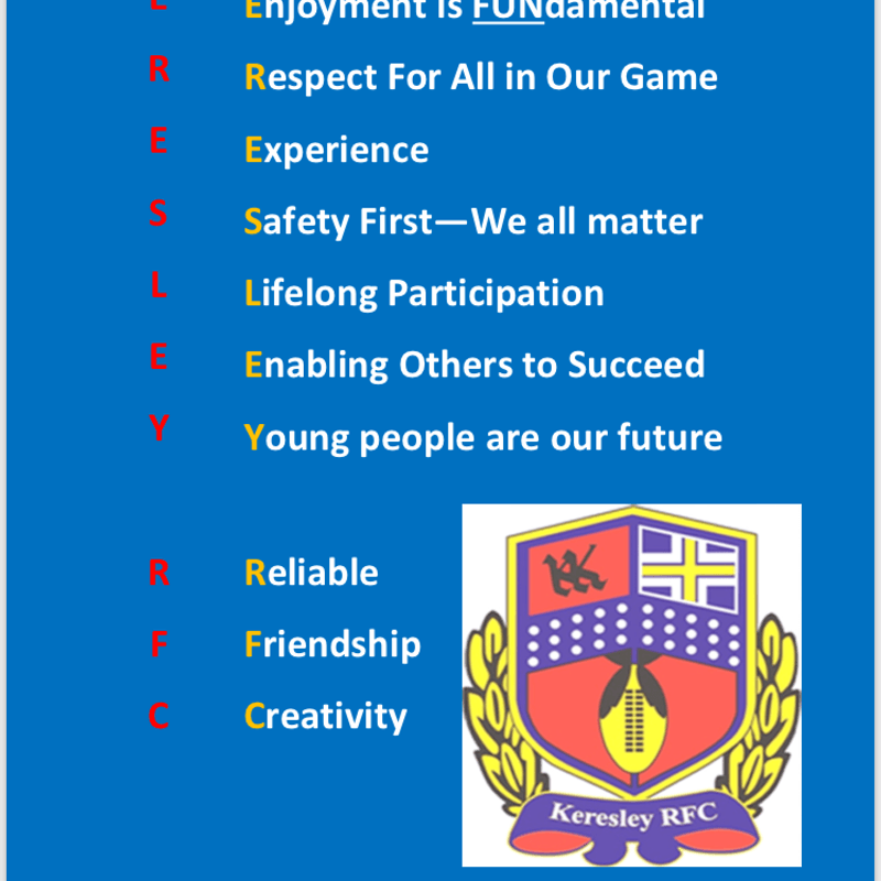Our club mission statement