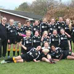 Harborough U15 Girls end their Season on a High