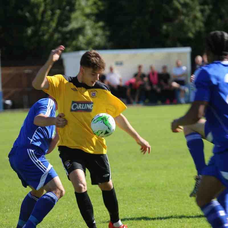 First Team v  Brockenhurst FC - 12th September 2015