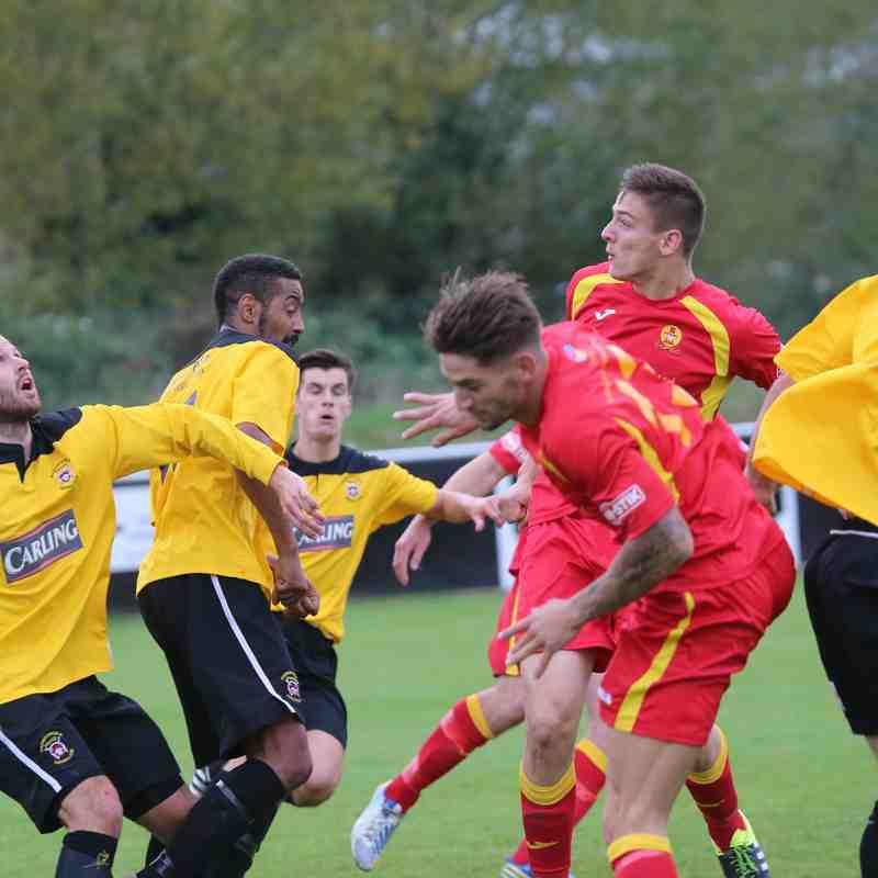First Team v Banbury United - 10th October 2015