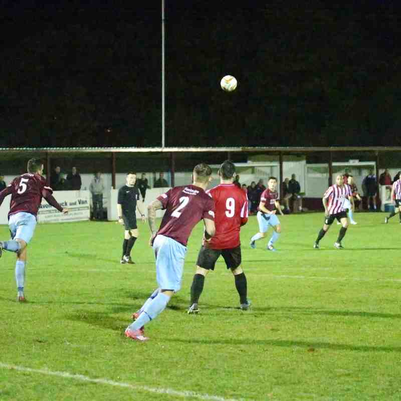 First Team v Evesham United - 27th October 2015