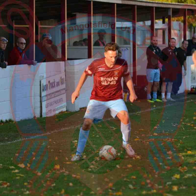 First Team v Bashley FC - 31st October 2015