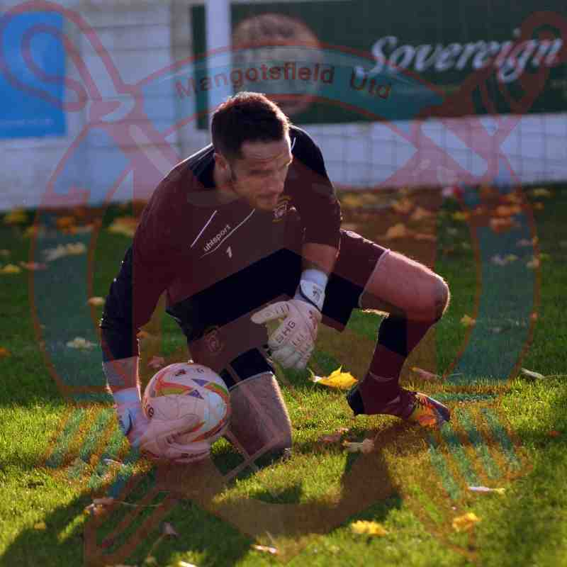 First Team v Cinderford Town - 7th November 2015