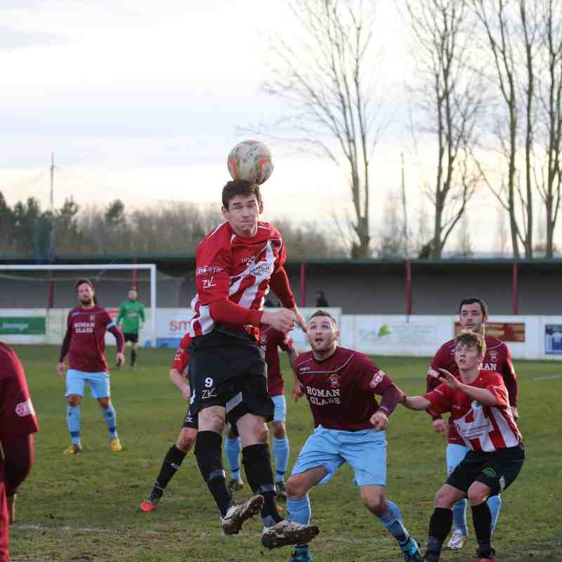 First Team v Shortwood United - 23rd January 2016