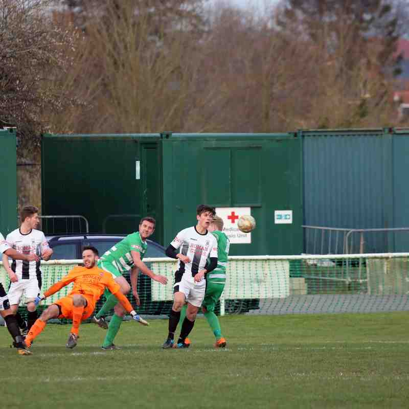 First Team v Wantage Town - 27th February 2016