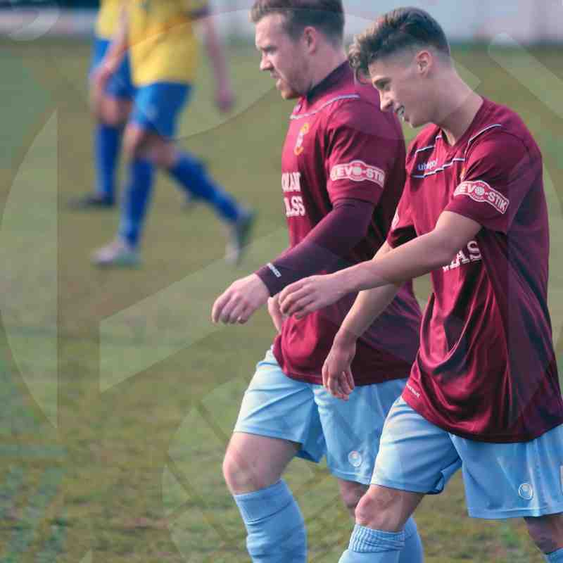 First Team v Bridgwater Town - 12th March 2016