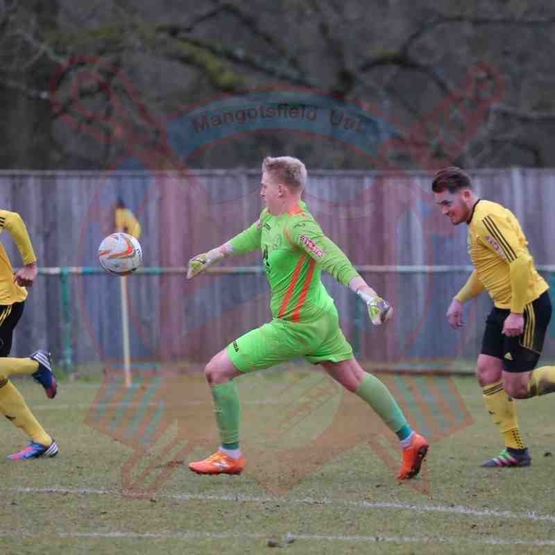 First Team v North Leigh - 19th March 2016