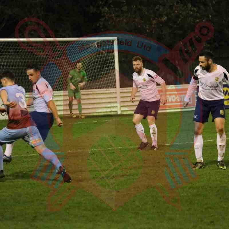 First Team v Yate Town 6th December 2016