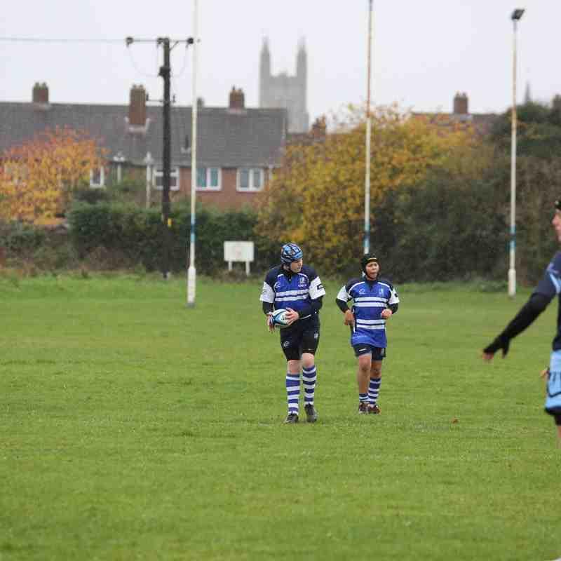 Under 15s v St Neots away 23/11/14