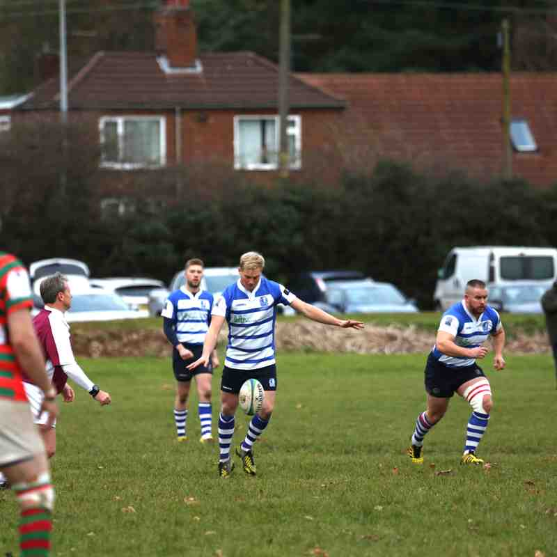 1st XV v Market Rasen & Louth (Away) 03/12/16