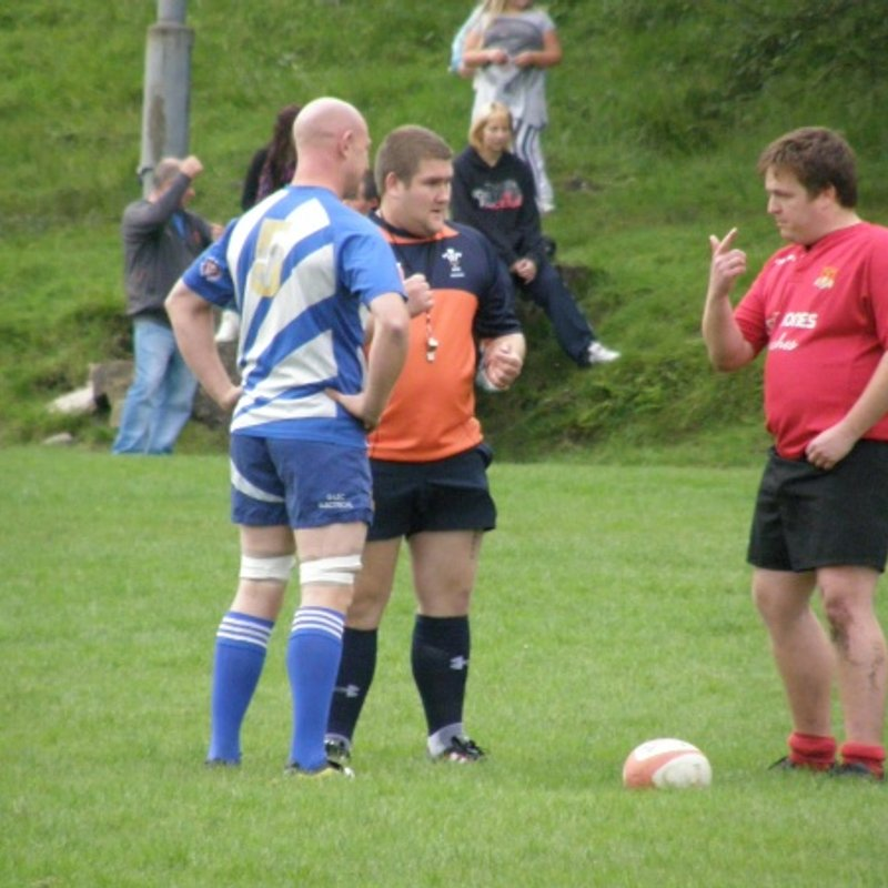 Blaengarw RFC Vs Pyle RFC(Seconds) - Friendly