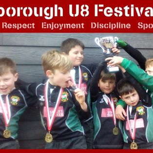 U8's success at Crowborough Festival