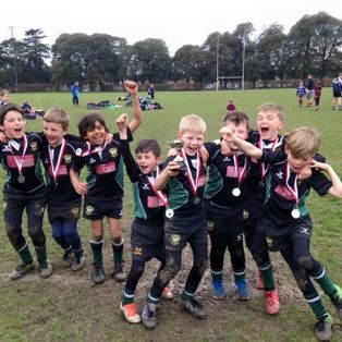 U8's Sussex Silver Finalists do their squad & club proud