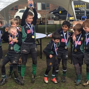 U8's 5 out of 5 to Win Lewes Festival