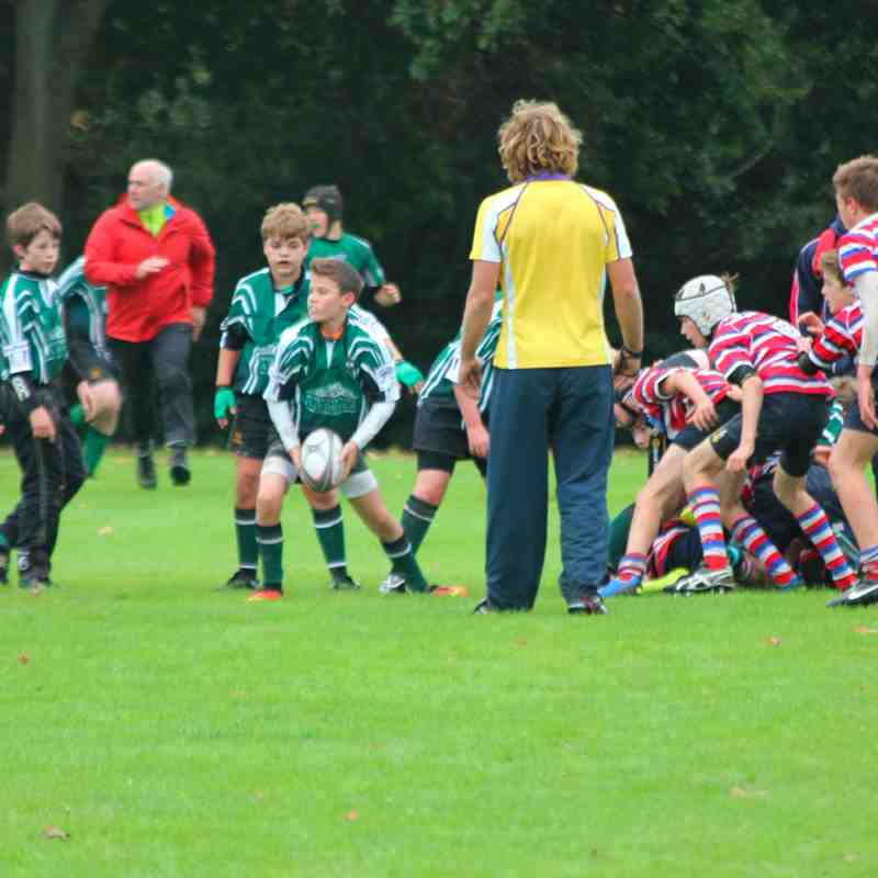 U13s host Juddians 12th Oct 2014