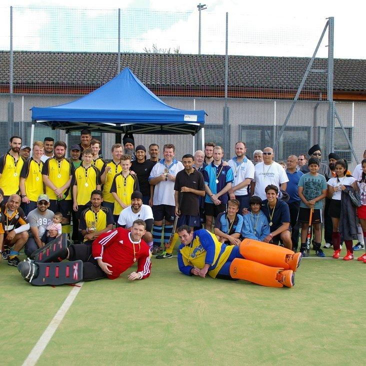 Slough Ramagarhia held their second development hockey tournament<