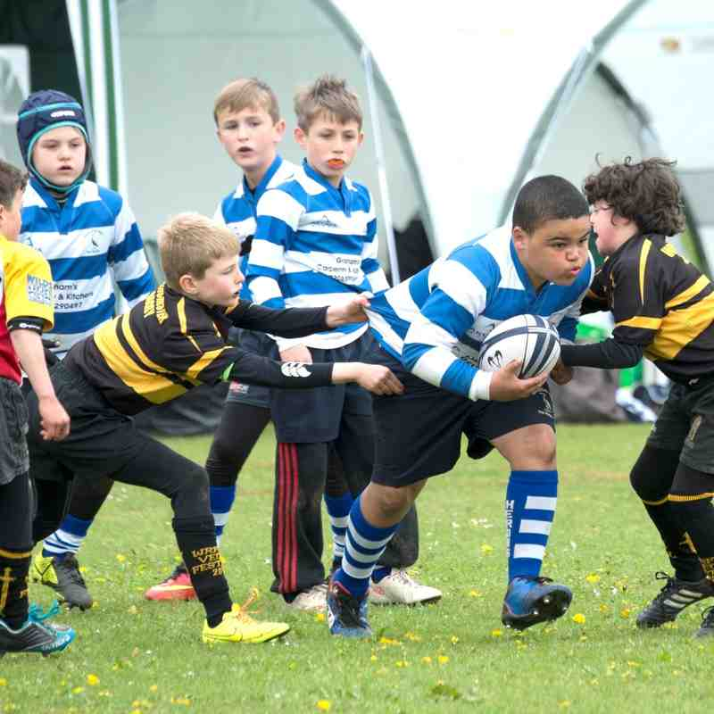 Under 9s at Vectis 2015