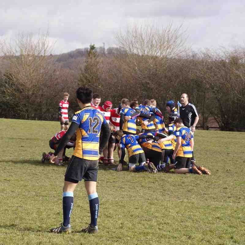 WMD U15s v Midsomer Norton 6 Mar 2016