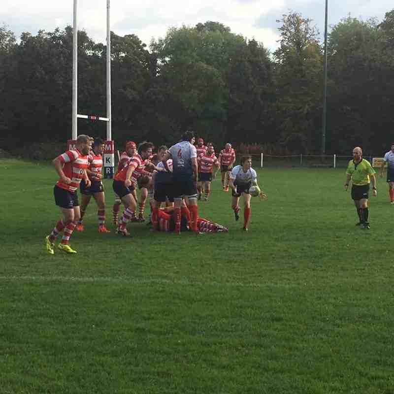 1st XV v Vale of Lune - 8th October 2016