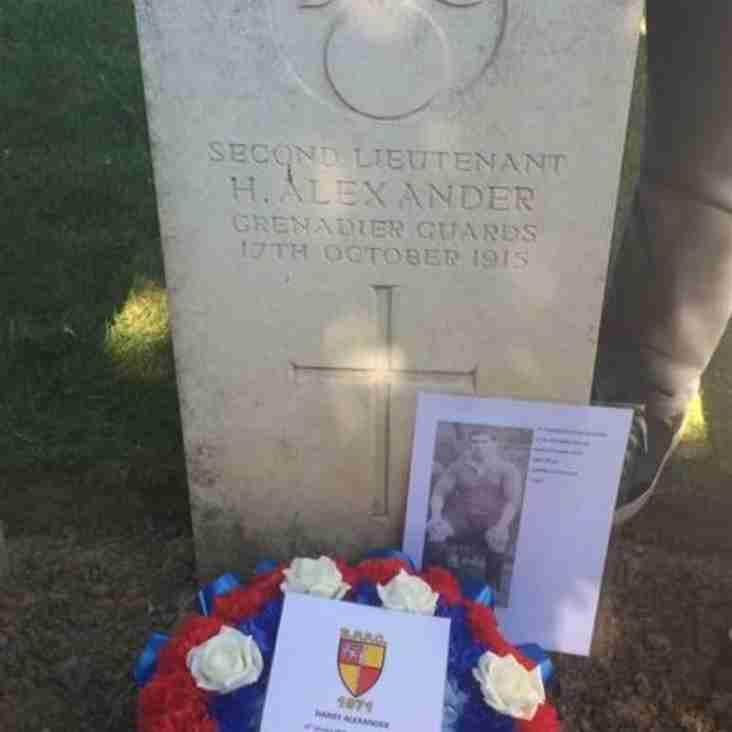 Remembering Harry Alexander