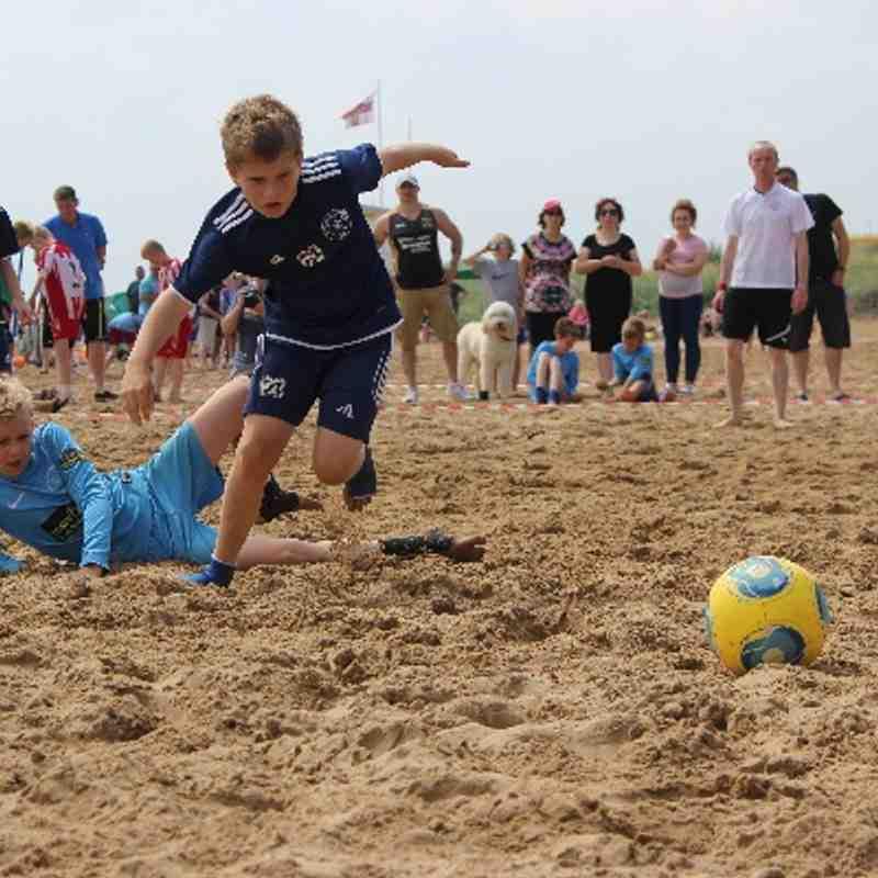 Bridlington Beach July 2014